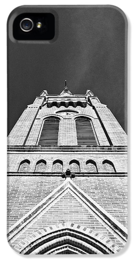 Church IPhone 5 / 5s Case featuring the photograph St. John The Evangelist by Scott Pellegrin