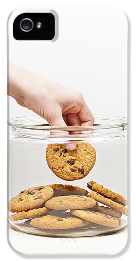 Hand IPhone 5 / 5s Case featuring the photograph Stealing Cookies From The Cookie Jar by Elena Elisseeva