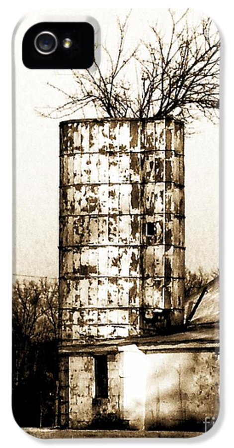 Architecture IPhone 5 / 5s Case featuring the photograph Still Supporting Life by Marcia L Jones