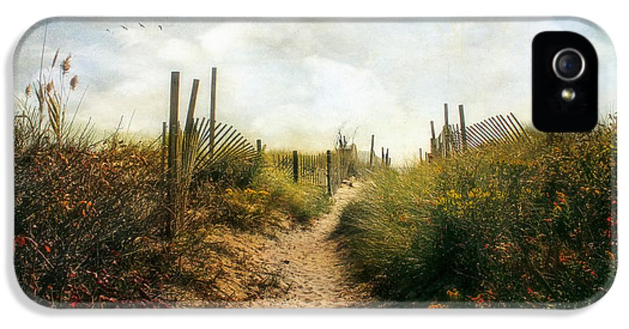 Summer IPhone 5 / 5s Case featuring the photograph Summer Pathway by John Rivera