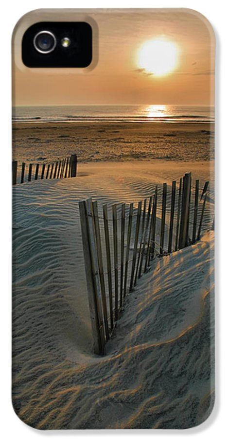 Outer Banks Prints IPhone 5 / 5s Case featuring the photograph Sunrise Over Hatteras by Steven Ainsworth