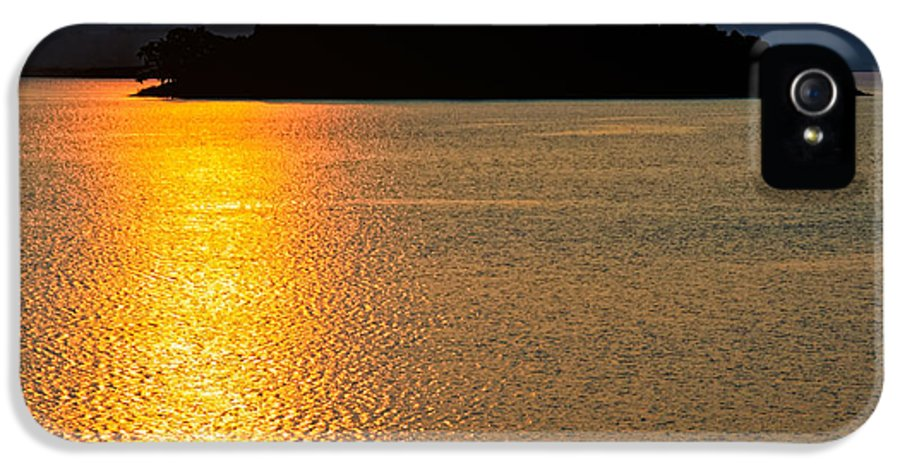 Asia IPhone 5 / 5s Case featuring the photograph Sunset Asia by Adrian Evans