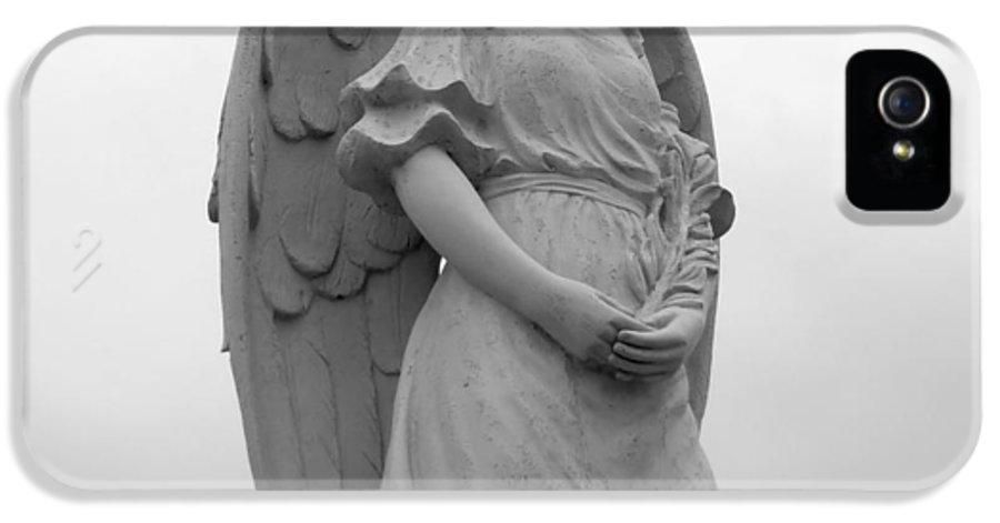 Angel IPhone 5 / 5s Case featuring the photograph Sweet Seraphim by Rachel E Moniz