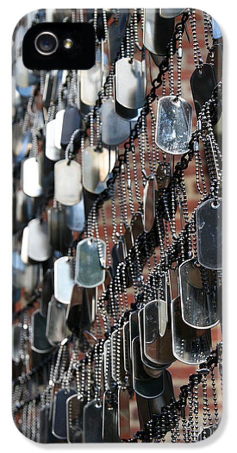 Dog Tag IPhone 5 / 5s Case featuring the photograph Tags by DJ Florek