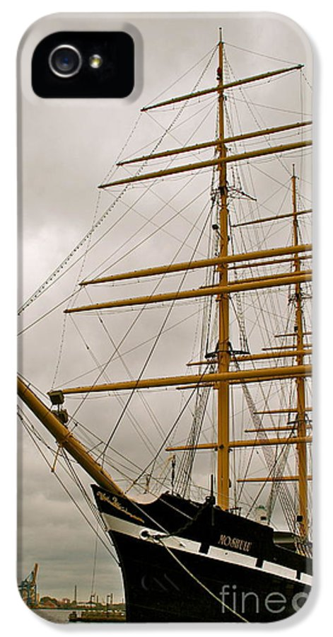 Ship IPhone 5 / 5s Case featuring the photograph Tall by Rick Monyahan