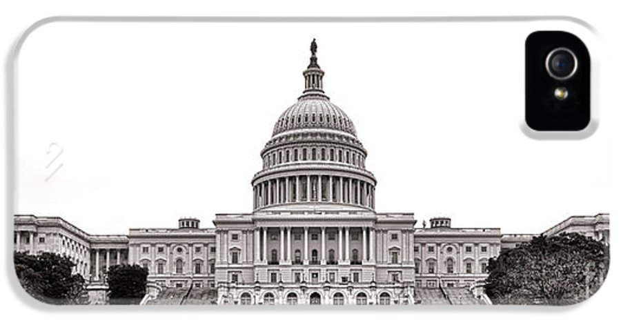 Washington IPhone 5 / 5s Case featuring the photograph The Capitol by Olivier Le Queinec