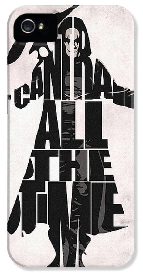 The Crow IPhone 5 / 5s Case by Ayse Deniz