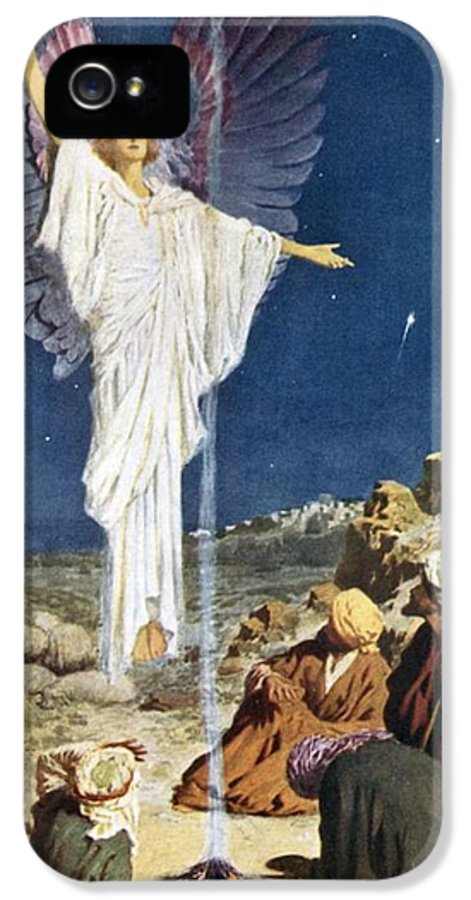 First Noel IPhone 5 / 5s Case featuring the painting The First Noel by William Henry Margetson
