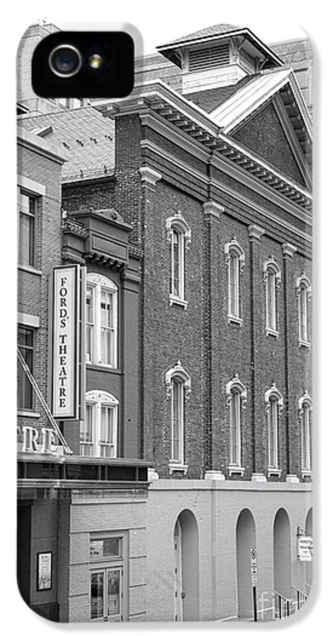 Washington IPhone 5 / 5s Case featuring the photograph The Ford Theater by Olivier Le Queinec