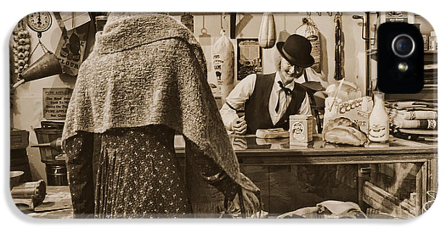 General Store IPhone 5 / 5s Case featuring the photograph The General Store by Priscilla Burgers