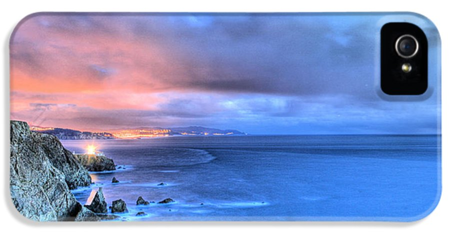 Bonita Point IPhone 5 / 5s Case featuring the photograph The Lighthouse by JC Findley