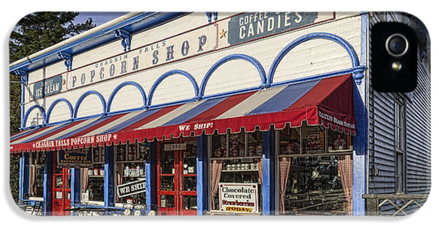 Popcorn Shop IPhone 5 / 5s Case featuring the photograph The Popcorn Shop by Dale Kincaid