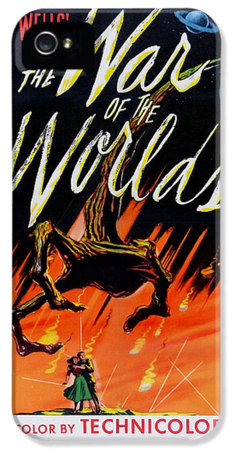 The War Of The Worlds IPhone 5 / 5s Case featuring the digital art The War Of The Worlds by Georgia Fowler