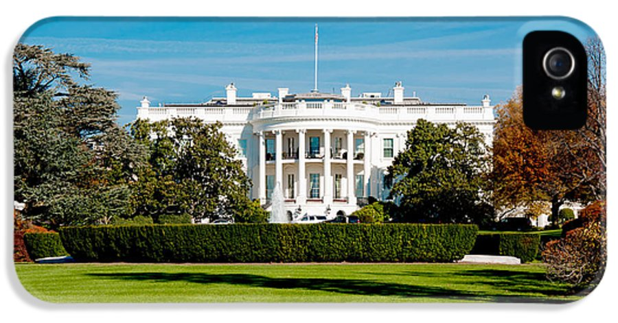 Washington Dc IPhone 5 / 5s Case featuring the photograph The White House by Greg Fortier