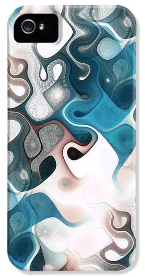 Thought IPhone 5 / 5s Case featuring the digital art Thought Process by Anastasiya Malakhova
