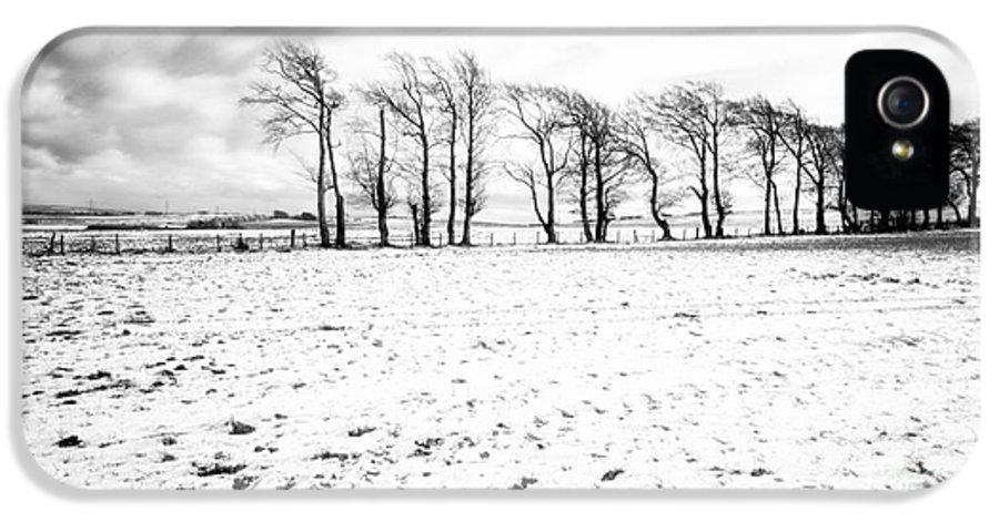 Snow IPhone 5 / 5s Case featuring the photograph Trees In Snow Scotland Iv by John Farnan
