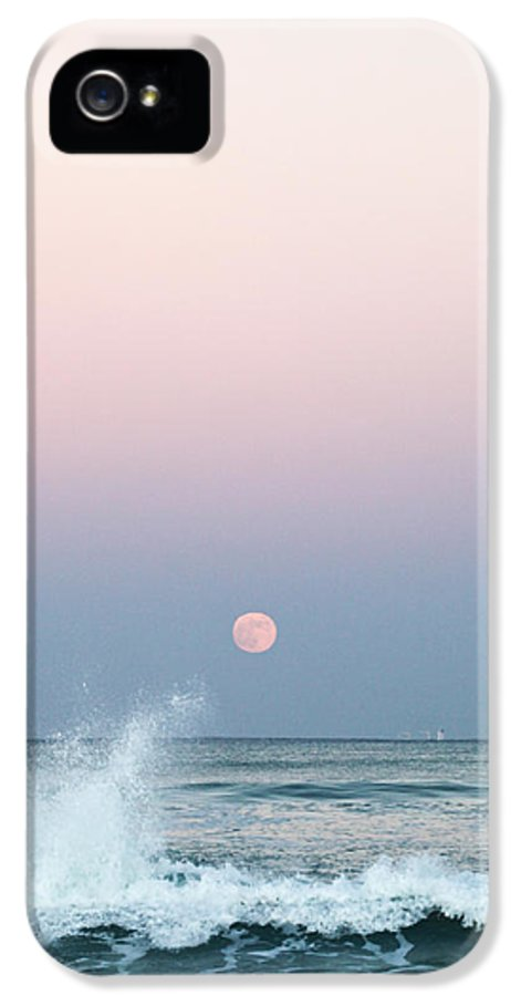 Twilight In Rose IPhone 5 / 5s Case featuring the photograph Twilight In Rose by Michelle Wiarda
