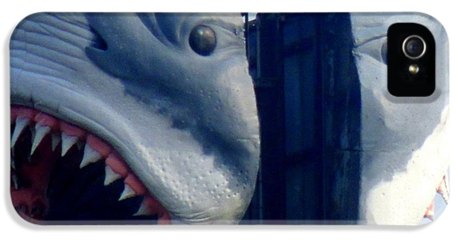 Shark IPhone 5 / 5s Case featuring the photograph Two Headed Shark by Randall Weidner