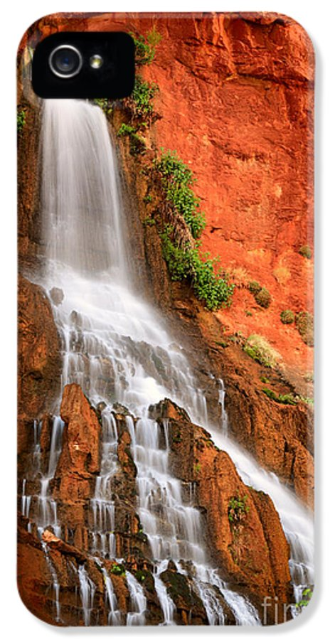 America IPhone 5 / 5s Case featuring the photograph Vaseys Paradise by Inge Johnsson