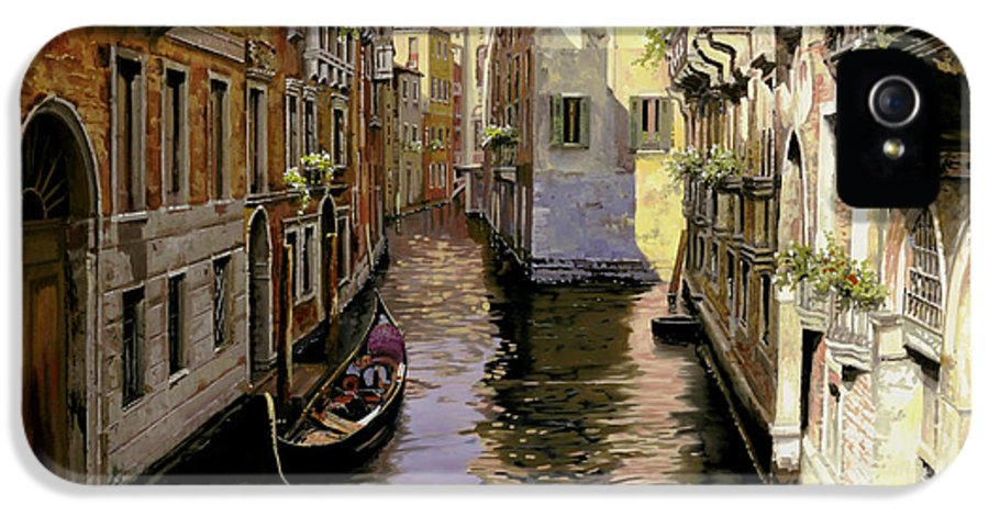 Venice IPhone 5 / 5s Case featuring the painting Venezia Chiara by Guido Borelli