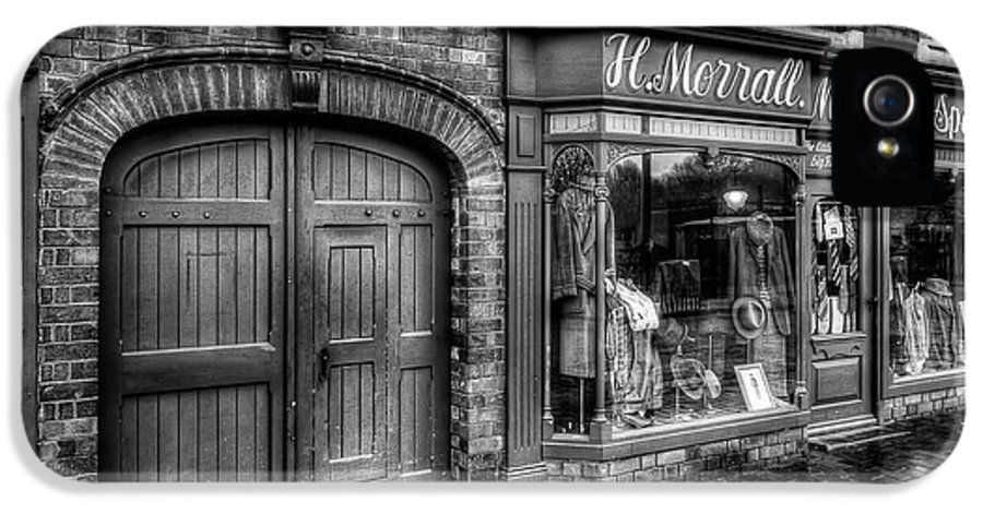 Alley IPhone 5 / 5s Case featuring the photograph Victorian Menswear by Adrian Evans