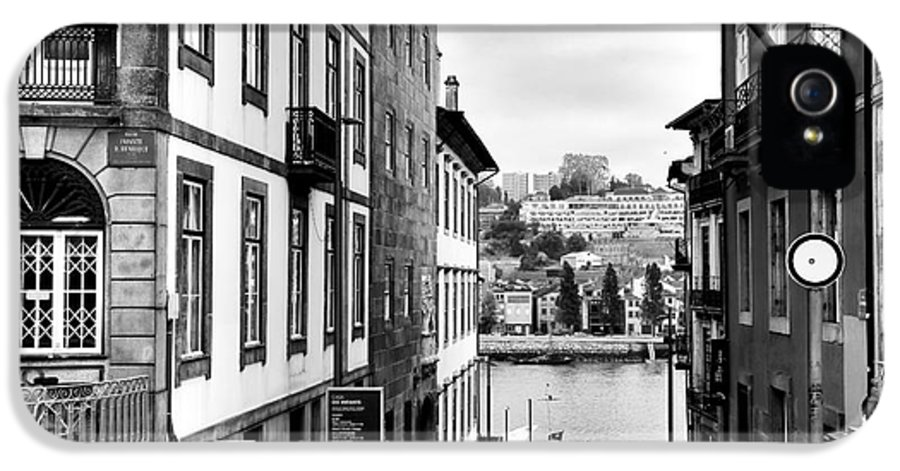 View Across The Douro IPhone 5 / 5s Case featuring the photograph View Across The Douro by John Rizzuto