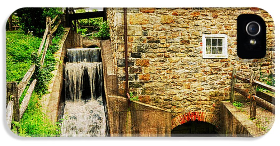 Mill IPhone 5 / 5s Case featuring the photograph Wagner Grist Mill by Paul Ward