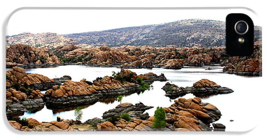 Watson Lake IPhone 5 / 5s Case featuring the photograph Watson Lake by Greg Thiemeyer