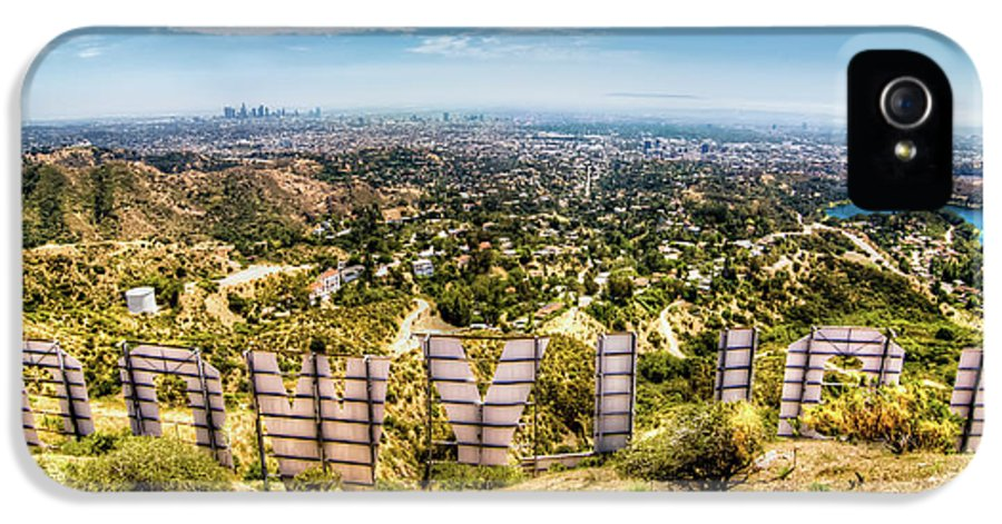 Actress IPhone 5 / 5s Case featuring the photograph Welcome To Hollywood by Natasha Bishop