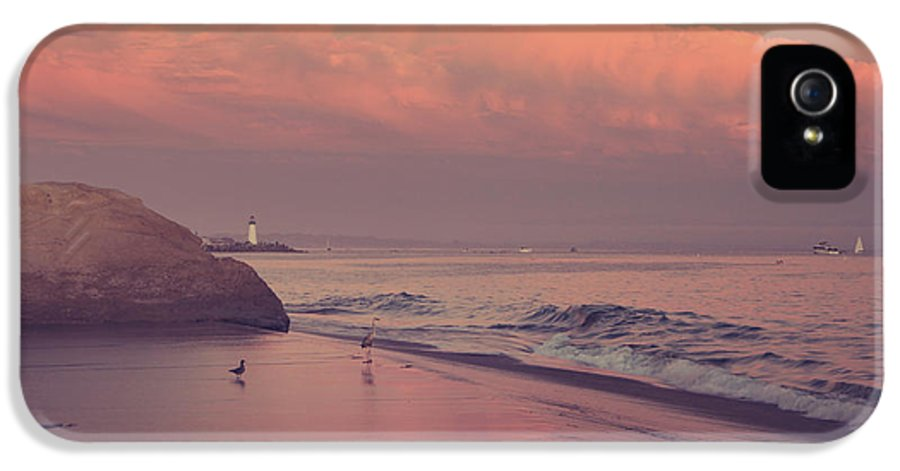 Santa Cruz IPhone 5 / 5s Case featuring the photograph We'll Just Sit Here For A While by Laurie Search