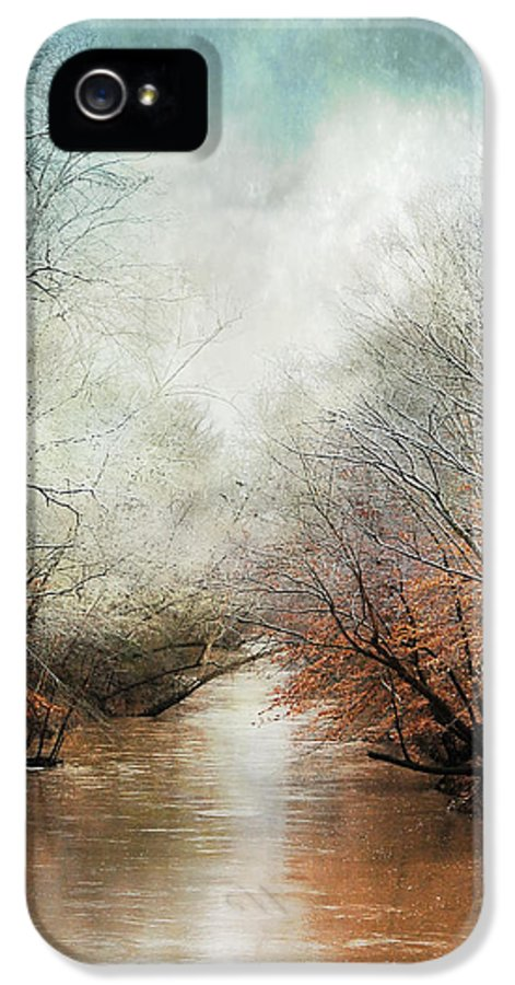 Winter IPhone 5 / 5s Case featuring the photograph Whisper Of Winter by Jai Johnson