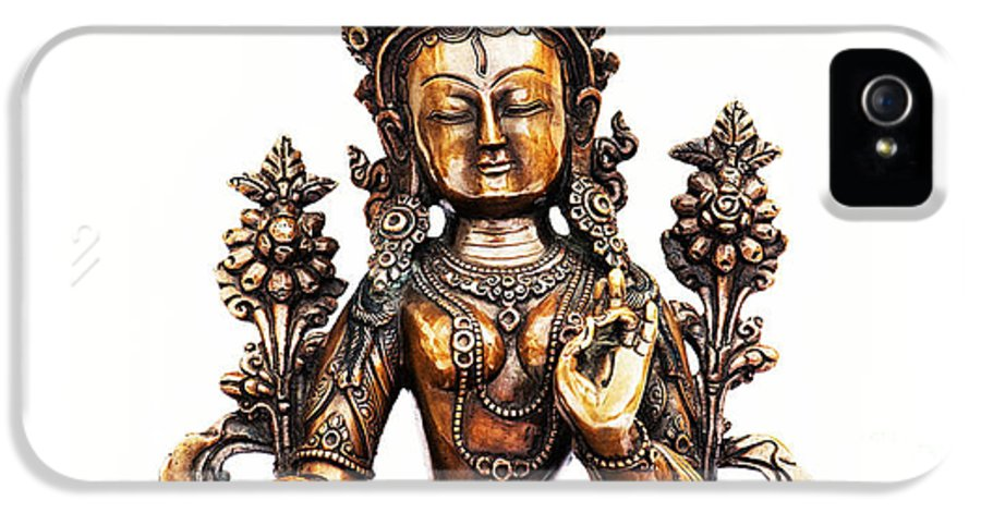 White Tara IPhone 5 / 5s Case featuring the photograph White Tara by Tim Gainey
