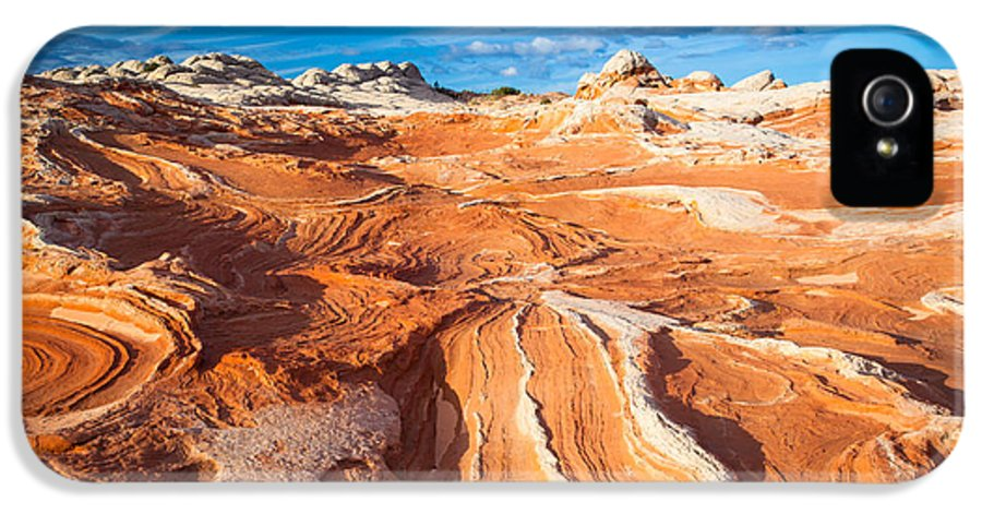 America IPhone 5 / 5s Case featuring the photograph Wild Sandstone Landscape by Inge Johnsson
