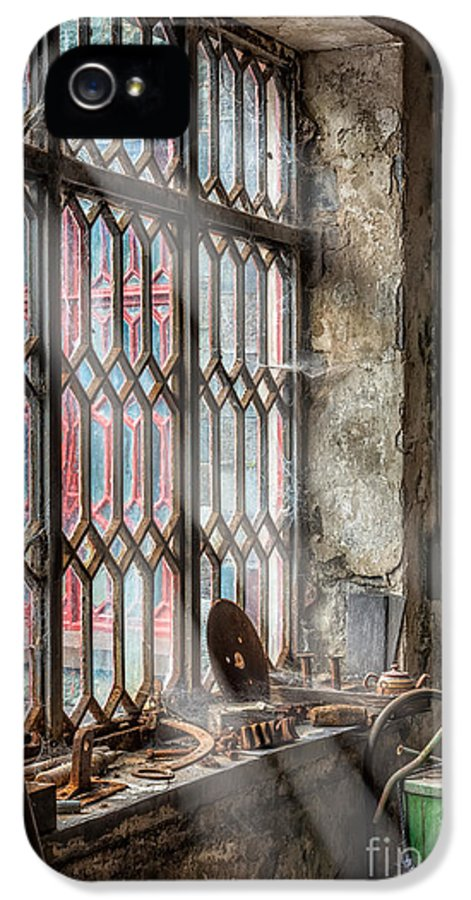 British IPhone 5 / 5s Case featuring the photograph Window Decay by Adrian Evans