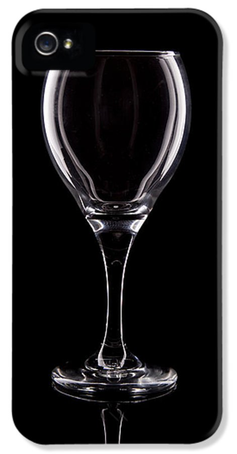 Wine IPhone 5 / 5s Case featuring the photograph Wineglass by Tom Mc Nemar
