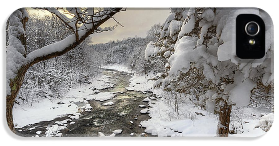 Winter IPhone 5 / 5s Case featuring the photograph Winter Morning by Bill Wakeley