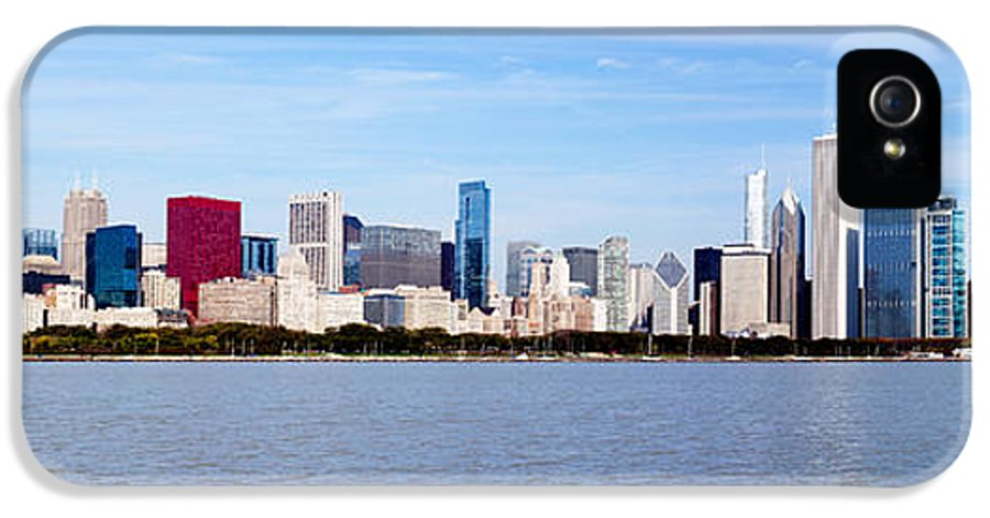 America IPhone 5 / 5s Case featuring the photograph Chicago Panorama by Paul Velgos