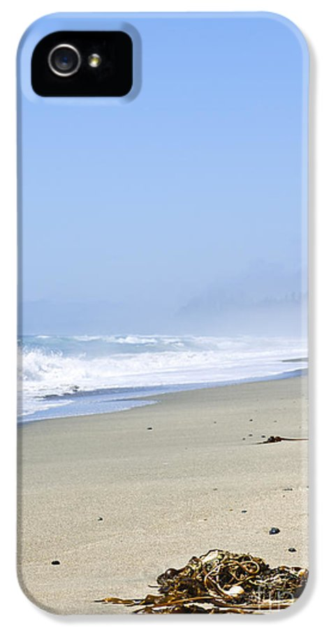 Pacific IPhone 5 / 5s Case featuring the photograph Coast Of Pacific Ocean In Canada by Elena Elisseeva