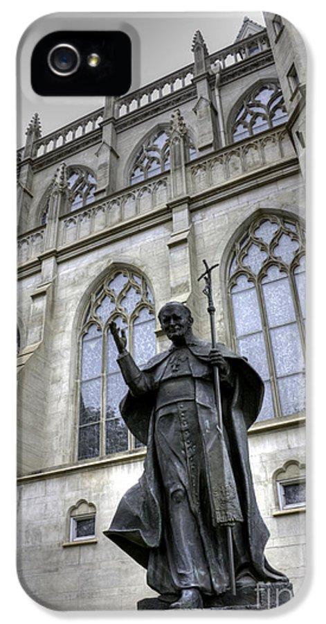 Pope John Paul I I IPhone 5 / 5s Case by David Bearden