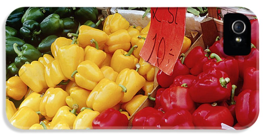 Business IPhone 5 / 5s Case featuring the photograph Vegetables At Market Stand by Jeremy Woodhouse