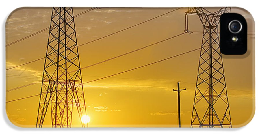 Energy IPhone 5 / 5s Case featuring the photograph Untitled by Alan Majchrowicz