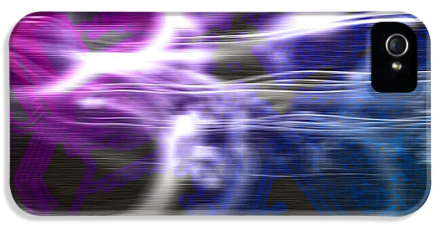 Technology IPhone 5 / 5s Case featuring the photograph Abstract Artwork by Victor Habbick Visions