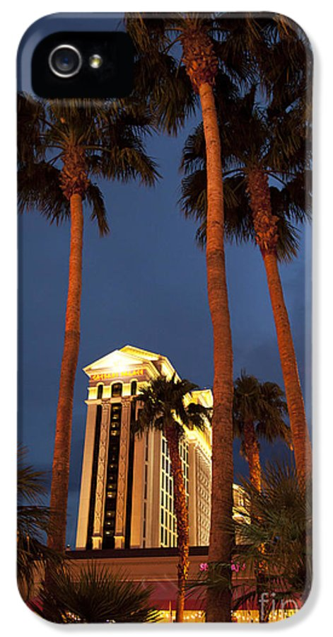 America IPhone 5 / 5s Case featuring the photograph Caesars Palace 6 by Jane Rix