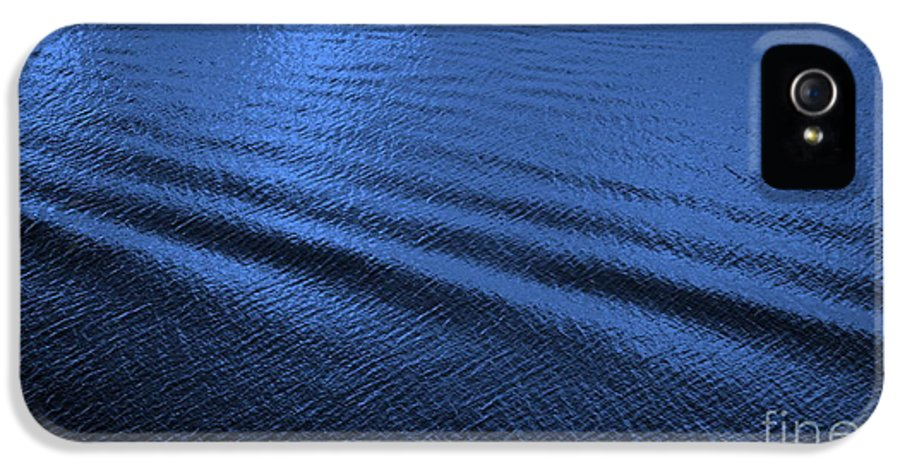 Blue IPhone 5 / 5s Case featuring the photograph Deep Blue Sea by Carol Groenen