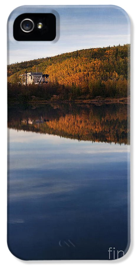 Dredge IPhone 5 / 5s Case featuring the photograph Dredge No. 4 by Priska Wettstein