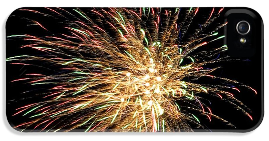 Firework IPhone 5 / 5s Case featuring the photograph Firework by Meandering Photography