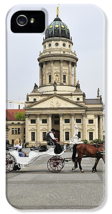 Berlin IPhone 5 / 5s Case featuring the photograph Gendarmenmarkt Berlin Germany by Matthias Hauser
