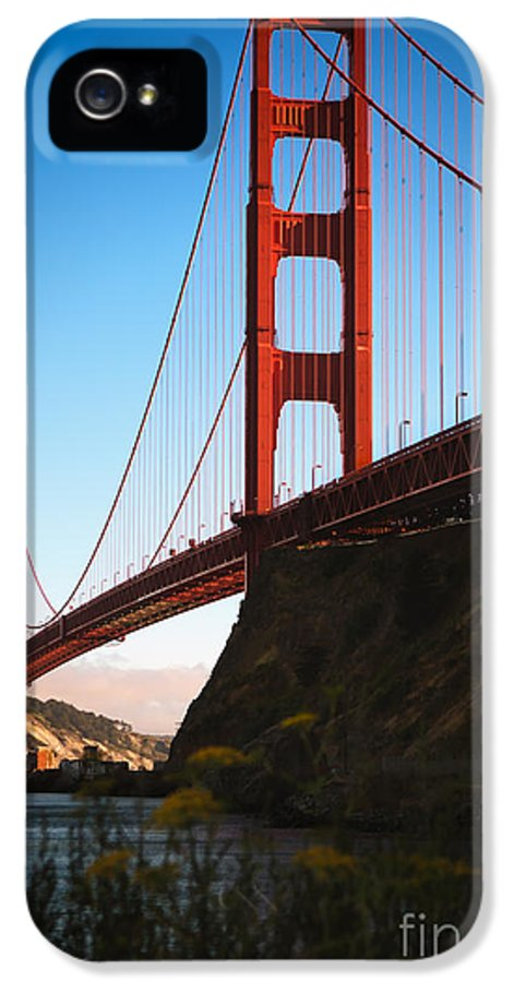 Sfo IPhone 5 / 5s Case featuring the photograph Golden Gate Bridge Sausalito by Doug Sturgess
