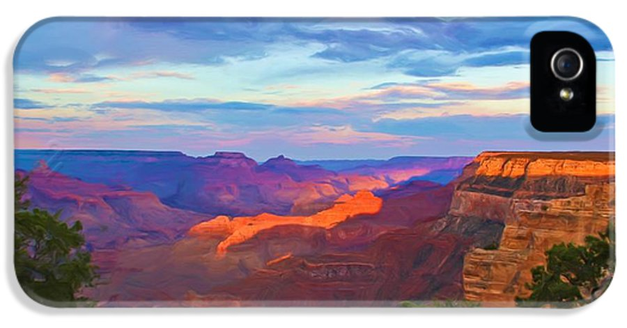 Grand Canyon IPhone 5 / 5s Case featuring the photograph Grand Canyon Grand Sky by Heidi Smith