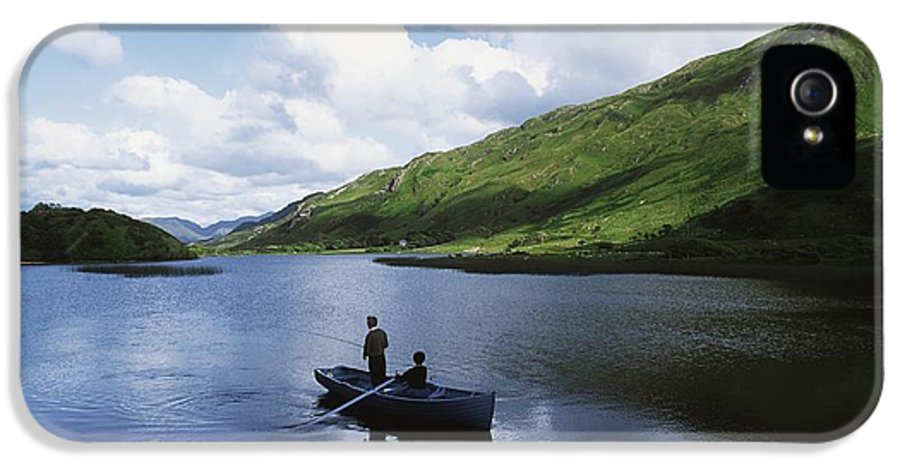 Co Galway IPhone 5 / 5s Case featuring the photograph Kylemore Lake, Co Galway, Ireland by The Irish Image Collection